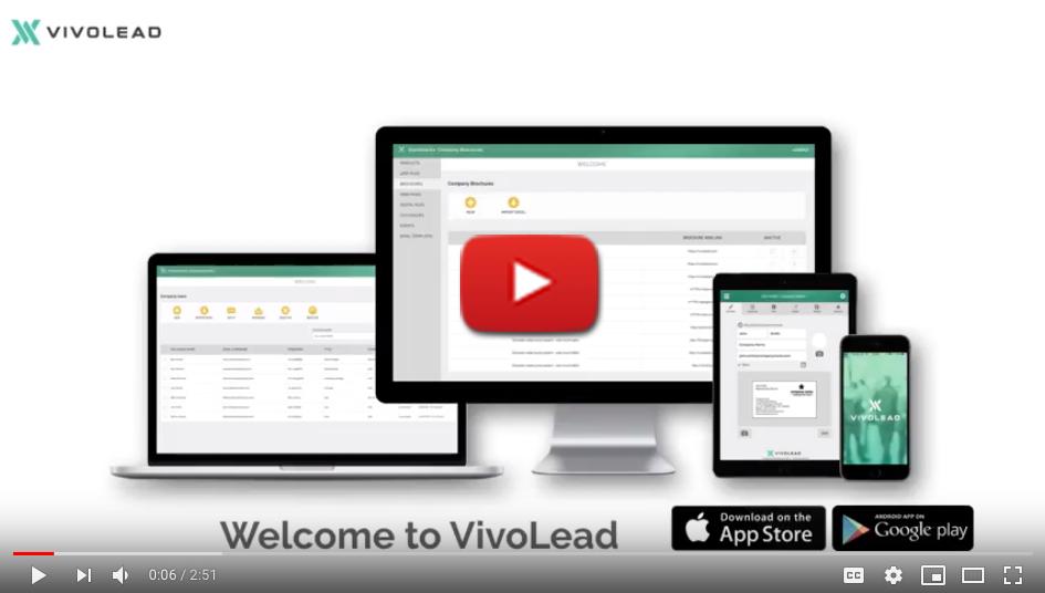 VivoLead exhibitor introduction